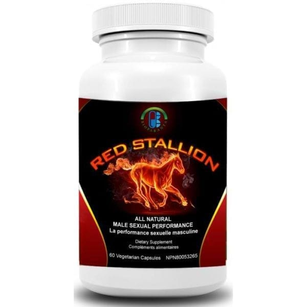 Red Stallion bioparanta sexual aphrodisiac natural Canada