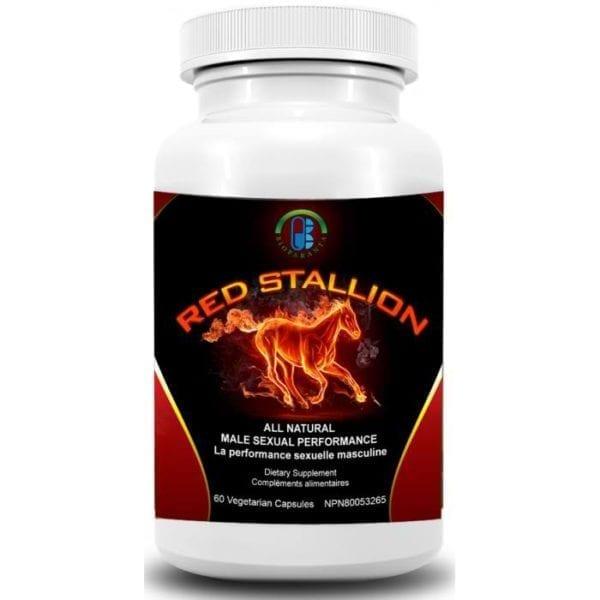 Red Stallion bioparanta sexual aphrodisiac natural Canada