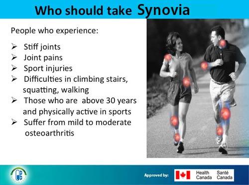 Who Should take Synovia treatment of arthritis by bioparanta all natural