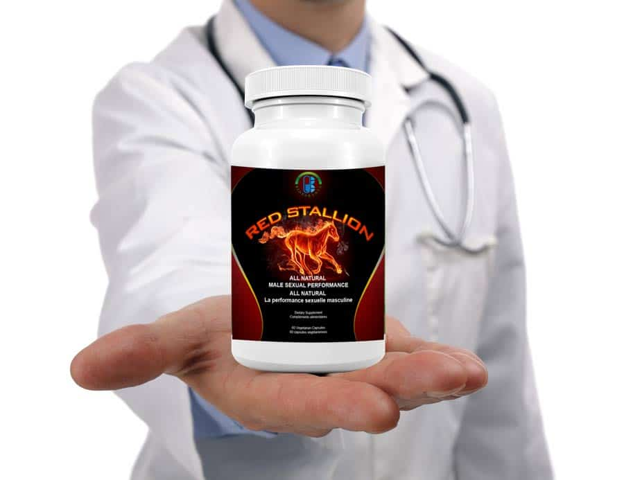 red stallion licensed all natural by Canadian company bioparanta treat sexual dysfunction increase sperm count