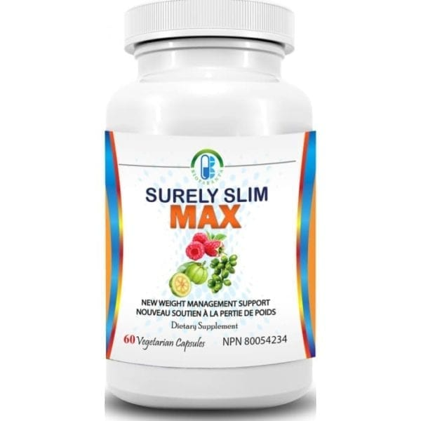 surelyslim MAX bioparanta weight loss natural canada garcinia raspberry green coffee